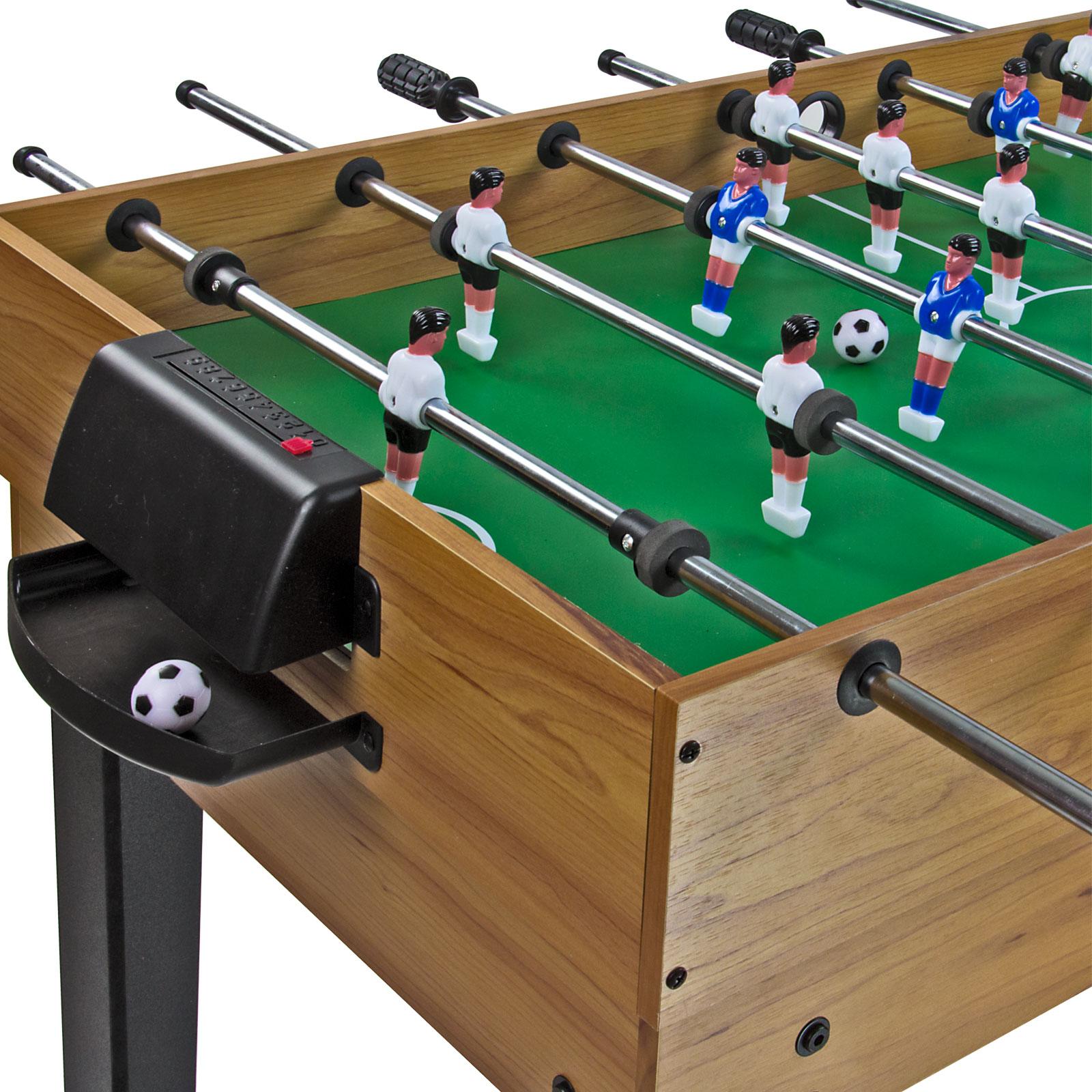 Tischkicker Multigame Spieltisch Kicker Billard 10in1