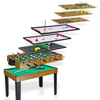 Tischkicker / Multigame Spieltisch 10 in 1 – Bild $_i