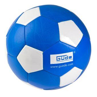 Kunstleder Fußball Ball Güde Blau Weiß Standardgröße 5 – Bild $_i