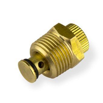 """Ablassventil 1/4"""" für Druckluft Kompressor 24201 + 24517 – Bild $_i"""