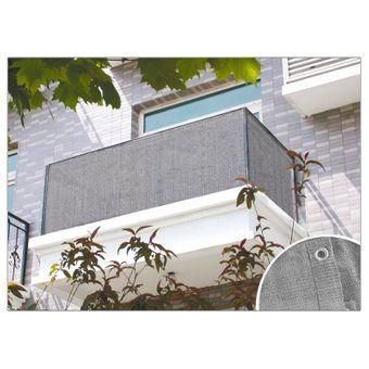 Balkon Sichtschutz Anthrazit oder Grau 6x0,9 m – Bild $_i