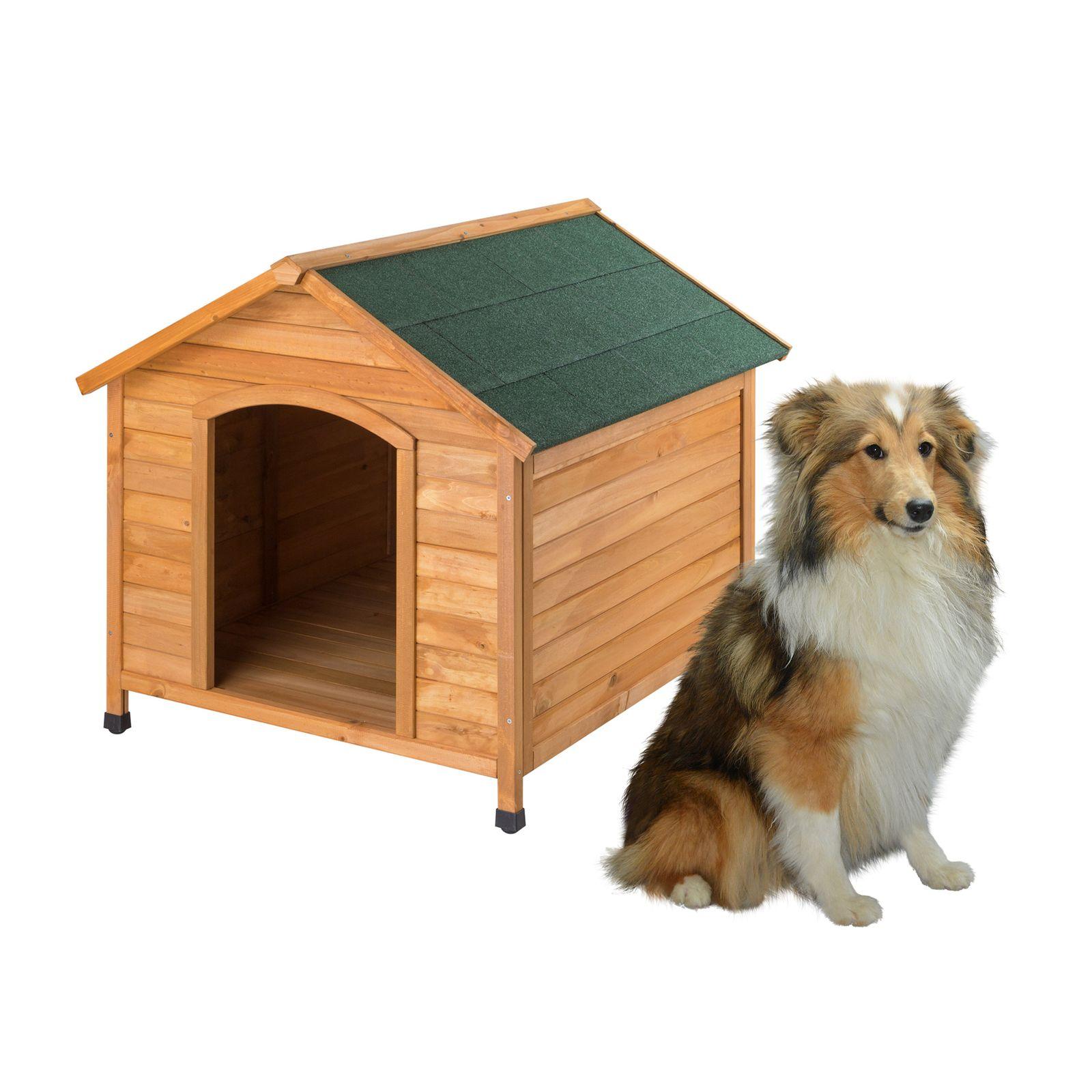 Dema Hundehütte / Hundehaus Rocky 111x96x94 cm Holz 50066
