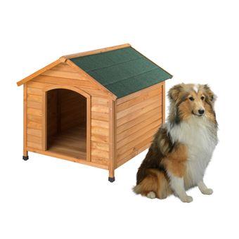 Hundehütte / Hundehaus Rocky 111x96x94 cm Holz – Bild $_i