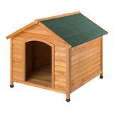 Hundehütte / Hundehaus Rocky 111x96x94 cm Holz