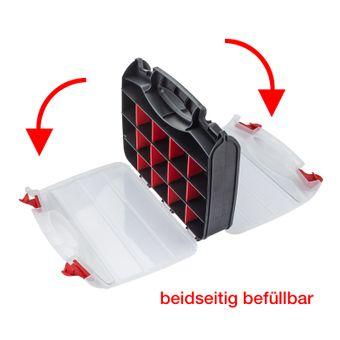 Sortimentskasten doppelseitig Kunststoff mit 32 Fächern – Bild $_i