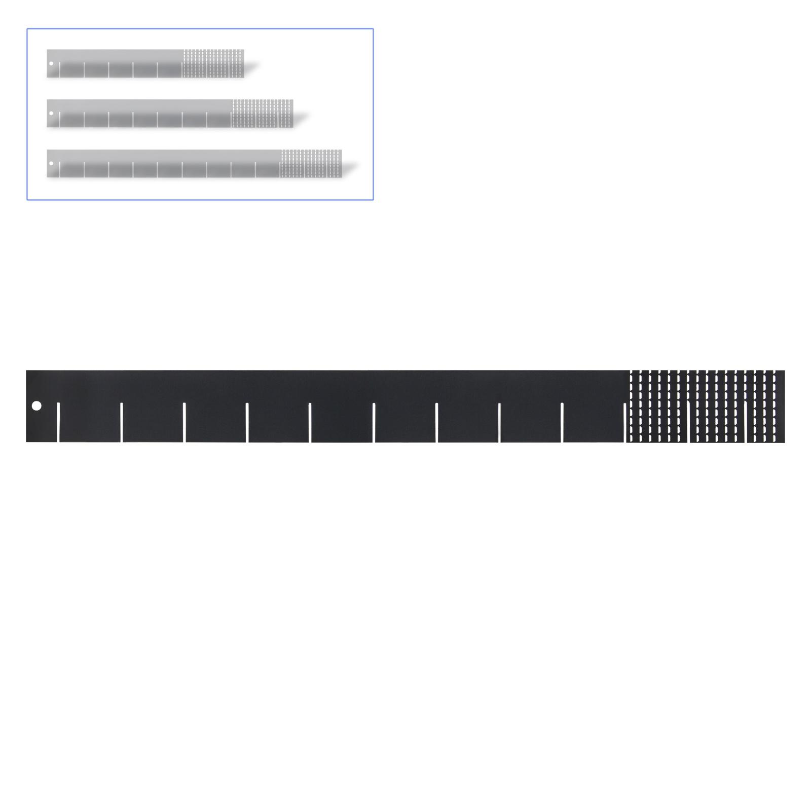 Dema Universaleinteiler Schubladeneinteiler 40 / 50 / 60 cm Werkstatt Einteiler Wagen 24769