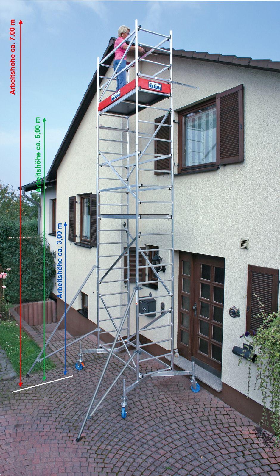 Krause ClimTec System Ausleger für Rollgerüst Alugerüst Baugerüst 714039