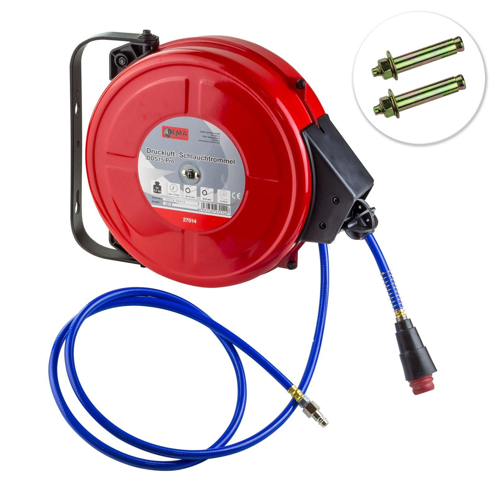 Dema Druckluft - Schlauchtrommel DDS15 Pro 27014