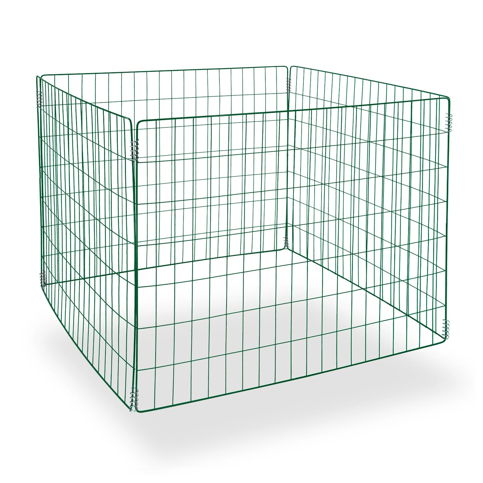 Dema Metallkomposter green-line 90x90x70 cm Metallkomposter Komposter 30951-30952