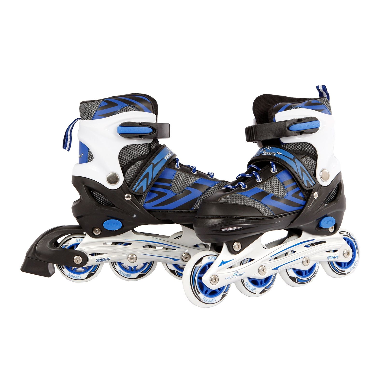 Dema Inlineskates in Blau oder Rosa Gr. 31 - 42 Skates Inline Inliner Verstellbar 11270