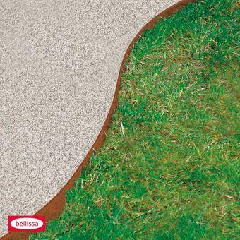 bellissa Rasenkante Corten Edelrost 118 x 13 cm – Bild $_i