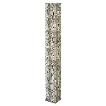 bellissa Steinsäule eckig 20 x 20 x 125 o. 175 cm – Bild $_i