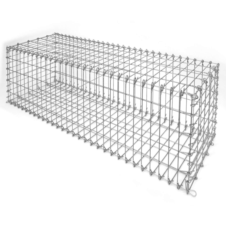 bellissa steinkorb profi gabione 50 100 150x50x 50 cm. Black Bedroom Furniture Sets. Home Design Ideas