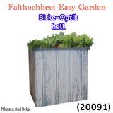 JUWEL Falt-Hochbeet Terrasse Balkon Easy Garden urban gardening
