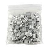Aluminium Pressklemmen 2 mm (100 Stück)