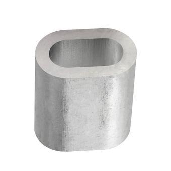Aluminium Pressklemmen 3 mm (100 Stück) – Bild $_i