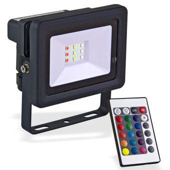LED-Strahler bunt 10 W – Bild $_i