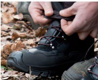Forst KWF Schnittschutz-Stiefel Oregon YUKON Leder Class1/ S2/EN ISO – Bild $_i
