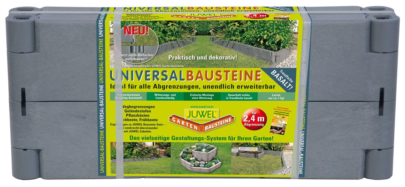 Juwel Bausteine 4 Stk Beeteinfassung Beetumrandung 20500