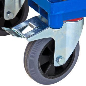 ADB Transportwagen Etagenwagen Rollwagen Materialwagen mit 2 Etagen Tischwagen – Bild $_i
