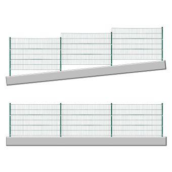 Stabmattenzaun grün 6x1,2 m – Bild $_i
