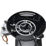 Tepro Kugel-Gasgrill Hillside Kugelgrill Edelstahl Grill Gas Thermometer BBQ