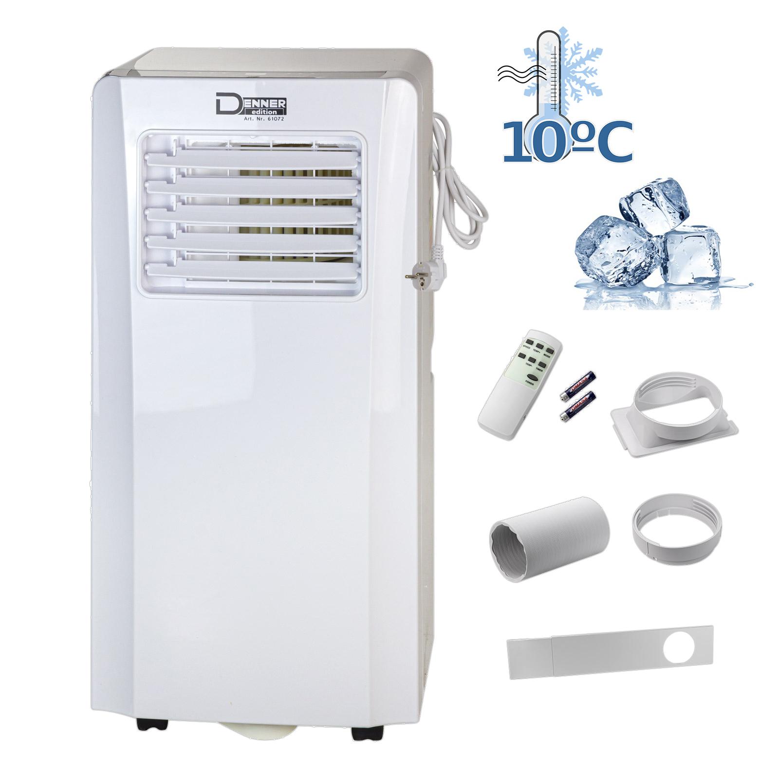 Denner-Edition Mobiles Klimagerät DMK 9000 Luftkühler Ventilator Klimaanlage Ionisator 2,6 kW 61072