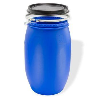 Maischefass / Weithalsfass Blau 30, 60, 120 oder 220 Liter – Bild $_i