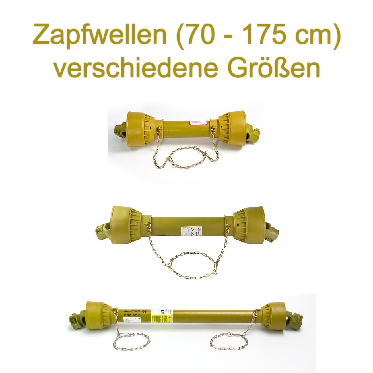 Gelenkwelle Zapfwelle Antriebswelle für Traktor Schlepper 80-103 cm 47 PS