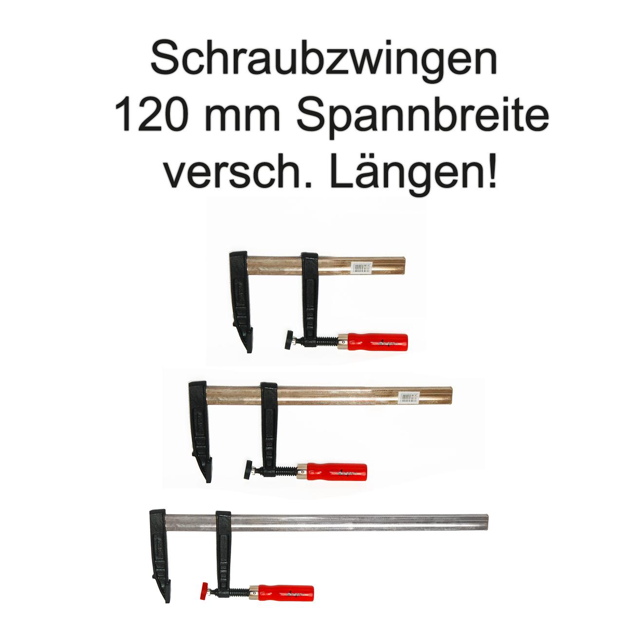 2x Schnellspannzwinge 600 mm Einhandzwinge Klemmzwinge Schraubzwingen