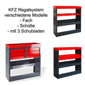 KFZ-Regalsystem / Einbauregal verschiedene Ausführungen – Bild $_i