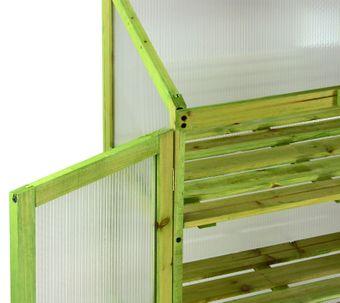 Frühbeetschrank / Aufzuchtschrank Lazise, 61x45x101 cm – Bild $_i