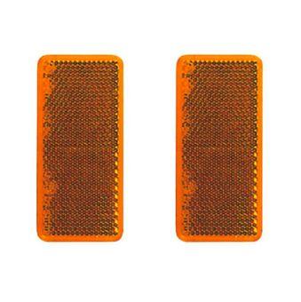 Rückstrahler 95x38 mm Orange / Rot selbstklebend 2 Stk. – Bild $_i