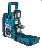 Makita Akku-Baustellenradio DMR112 Bluetooth Radio ohne Akku und Ladegrät