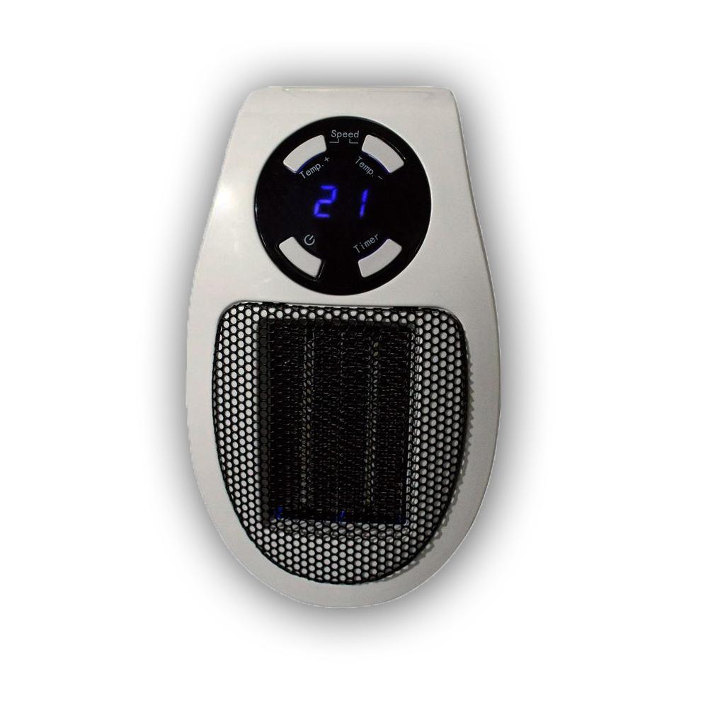 Steckdosen Heizlüfter Mini Heizung Elektroheizer Heizgerät Mobile Heizlüfter Neu