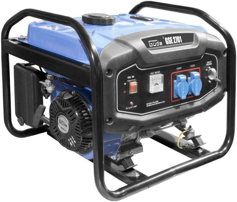 Güde Benzin Stromerzeuger Generator Notstromgenerator GSE2701 2 x 230V 40727