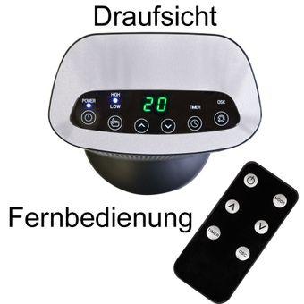 Vintec Heizlüfter/Elektroheizer 2.0 kW 2-stufig VT2000NT – Bild $_i