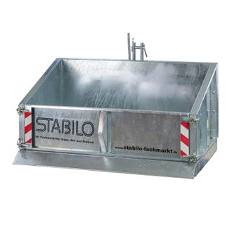 Stahl Heckcontainer Heckmulde (100 / 120 / 150 cm) – Bild $_i