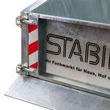 Stahl Heckcontainer Heckmulde (100 / 120 / 150 cm)