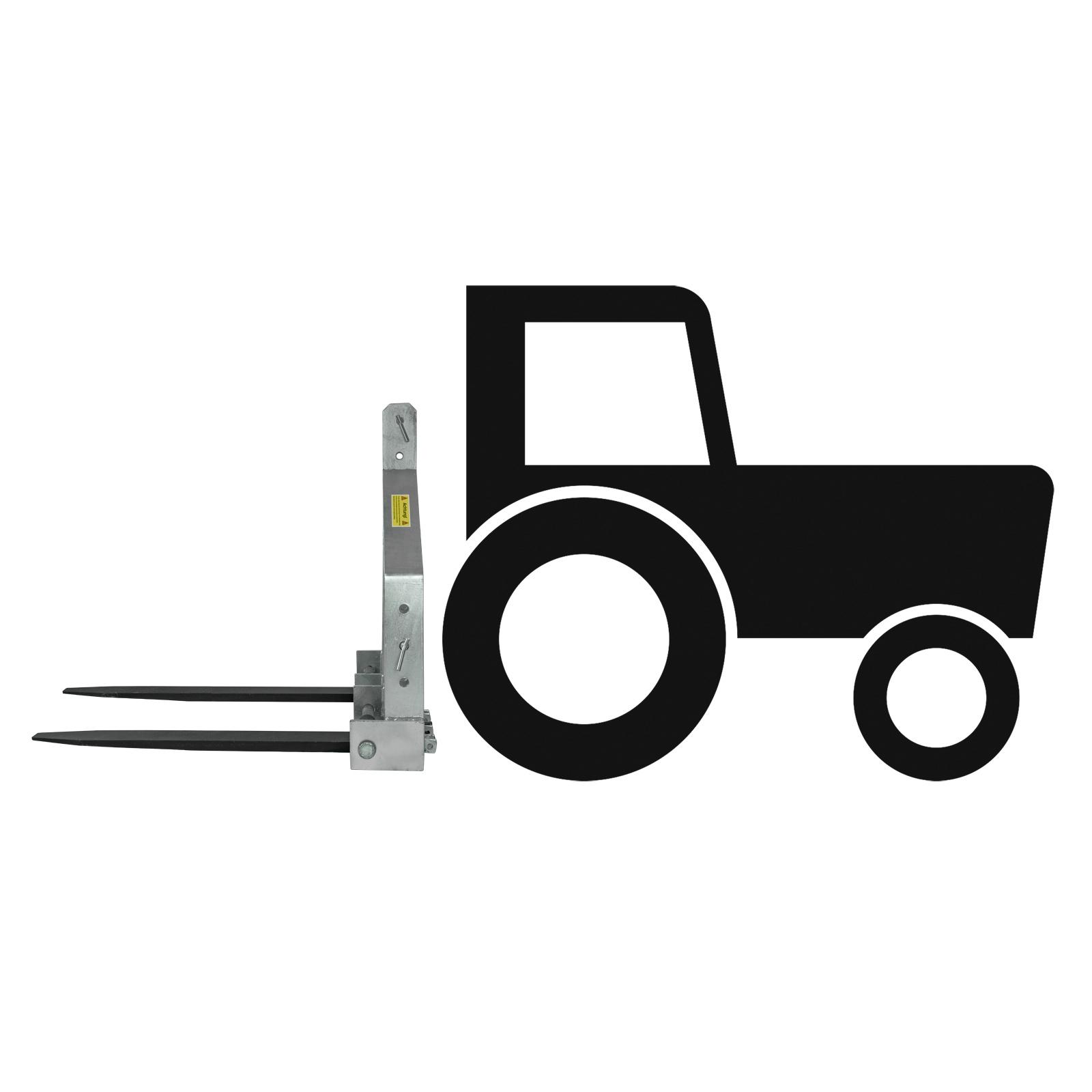 Palettengabel DPG900Z Kat 1+2 Heckgabel Staplergabel Dreipunktgabel Traktor