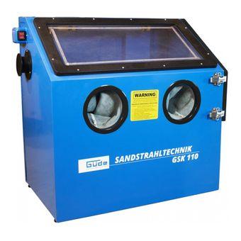 Güde Sandstrahlkabine Sand-Strahl-Kabine GSK 110 LTR Sandstrahlgerät – Bild $_i