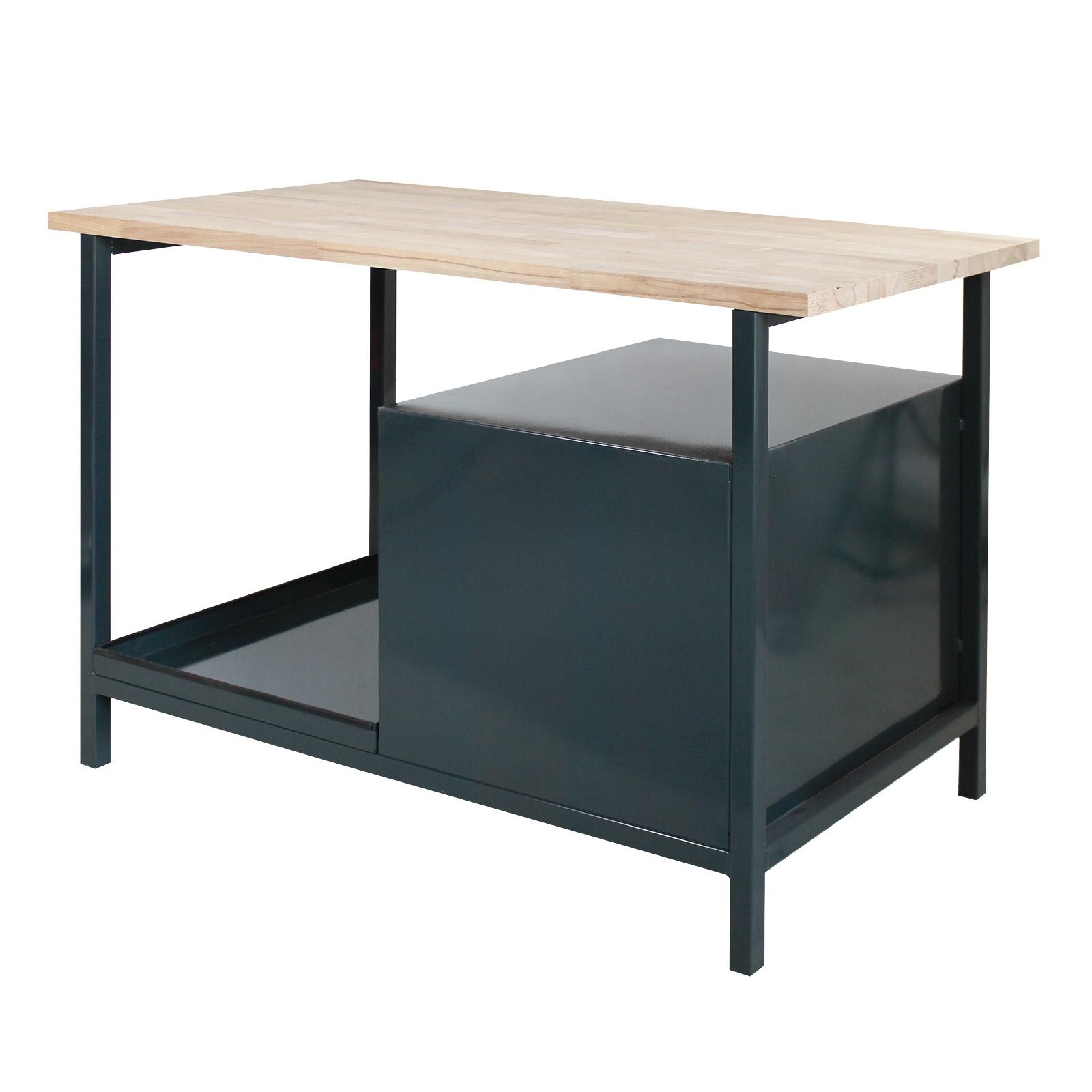 Dema Werkbank Werkstatt Arbeitstisch Eko 3S 120x60cm Arbeitsplatte 24903