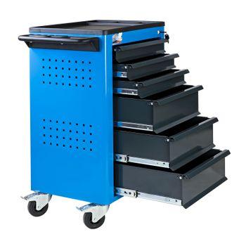 ADB Werkstattwagen Easy Blau mit 6 Schubladen – Bild $_i