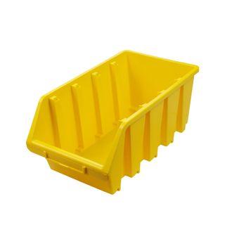 ADB Ergobox Gr. 4 gelb 204x340x155mm Sichtlagerkasten Stapelbox Schütte – Bild $_i