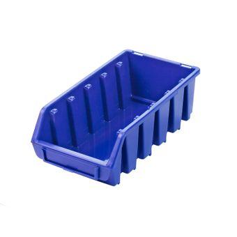 ADB Ergobox Gr.2L blau 116x212x75mm Sichtlagerkasten Stapelbox Schütte – Bild $_i