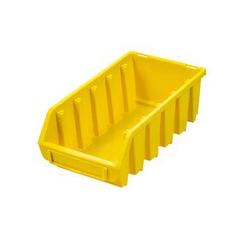 ADB Ergobox Gr.2L gelb 116x212x75mm Sichtlagerkasten Stapelbox Schütte – Bild $_i