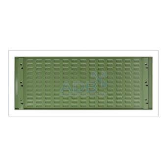 ADB Schlitzplatte, waagerecht 1177x456mm;RAL 6011 – Bild $_i