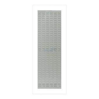 ADB Schlitzplatte,senkrecht, L456xB1482mm; RAL 7035 – Bild $_i