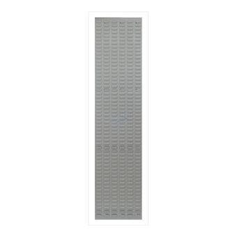 ADB Schlitzplatte,senkrecht, L456xB1975mm; RAL 7035 – Bild $_i