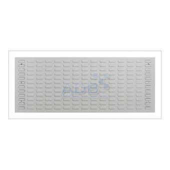 ADB Schlitzplatte,waagerecht, L1177xB456mm; RAL 7035 – Bild $_i
